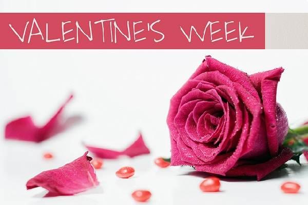 Valentines Week List February 2013