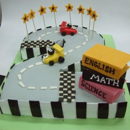 Nd Birthday Cake Classic Cars
