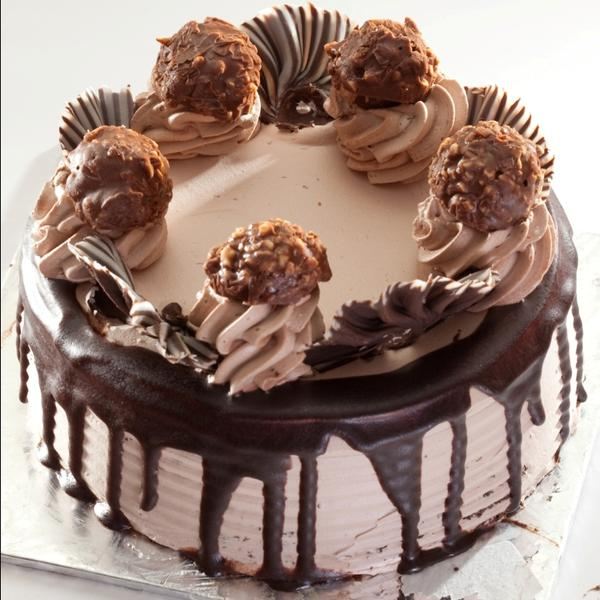 How To Make Ferrero Rocher Mousse Cake