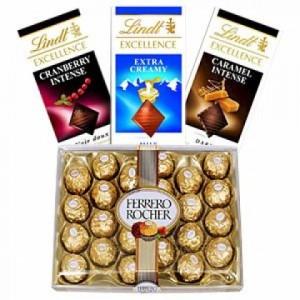 Ferrero Rocher and Lindt Chocolates-420x420