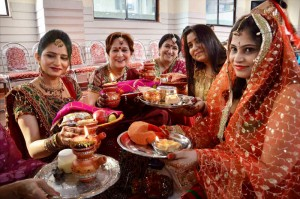 Celebrating Karvachauth