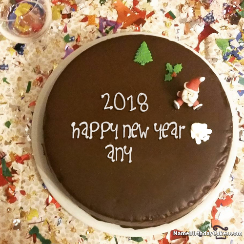 happy new year cake 2018 with name_ea61