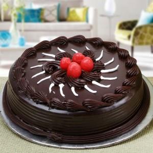 Chocholate-Truffle-cake