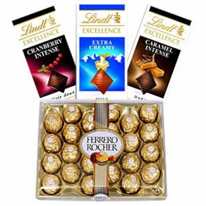 Ferrero Rocher and Lindt Chocolates-420x420