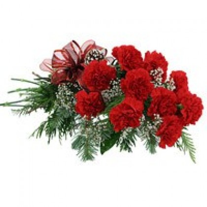 Red Carnations - Hand Bunch-420x420